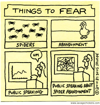 Things to Fear_Fear of Public Speaking