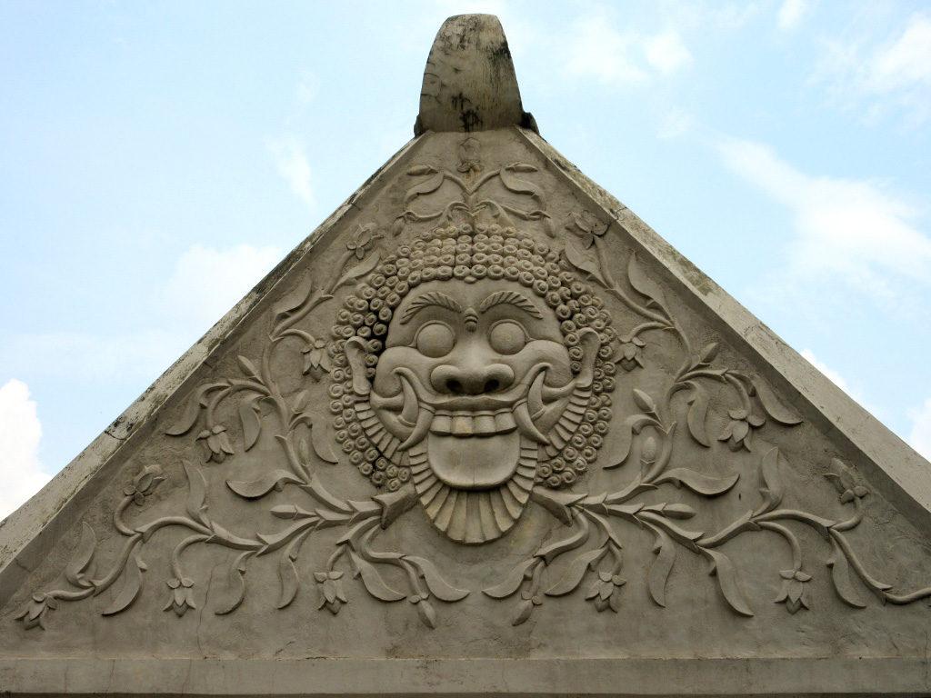 Water Palace Gargoyle, Yogyakarta