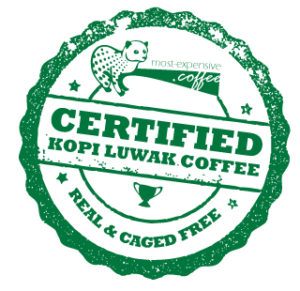 Certified Kopi Luwak Coffee